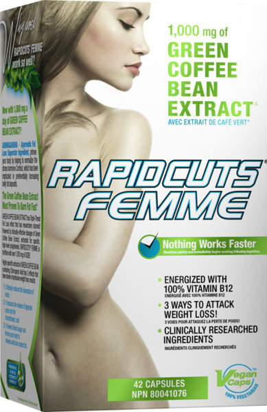 RapidCuts Femme - 42 капсули